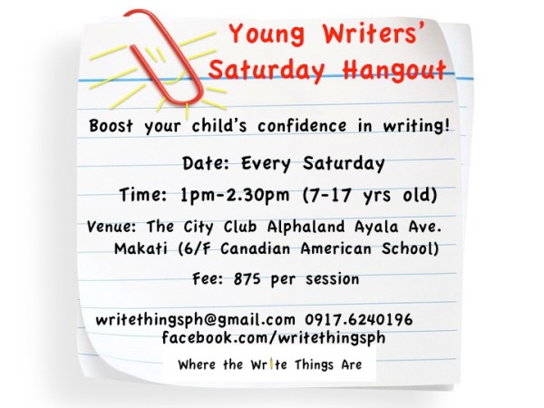 Young Writers' Sat Hangout