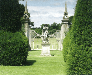 Old entrance gates