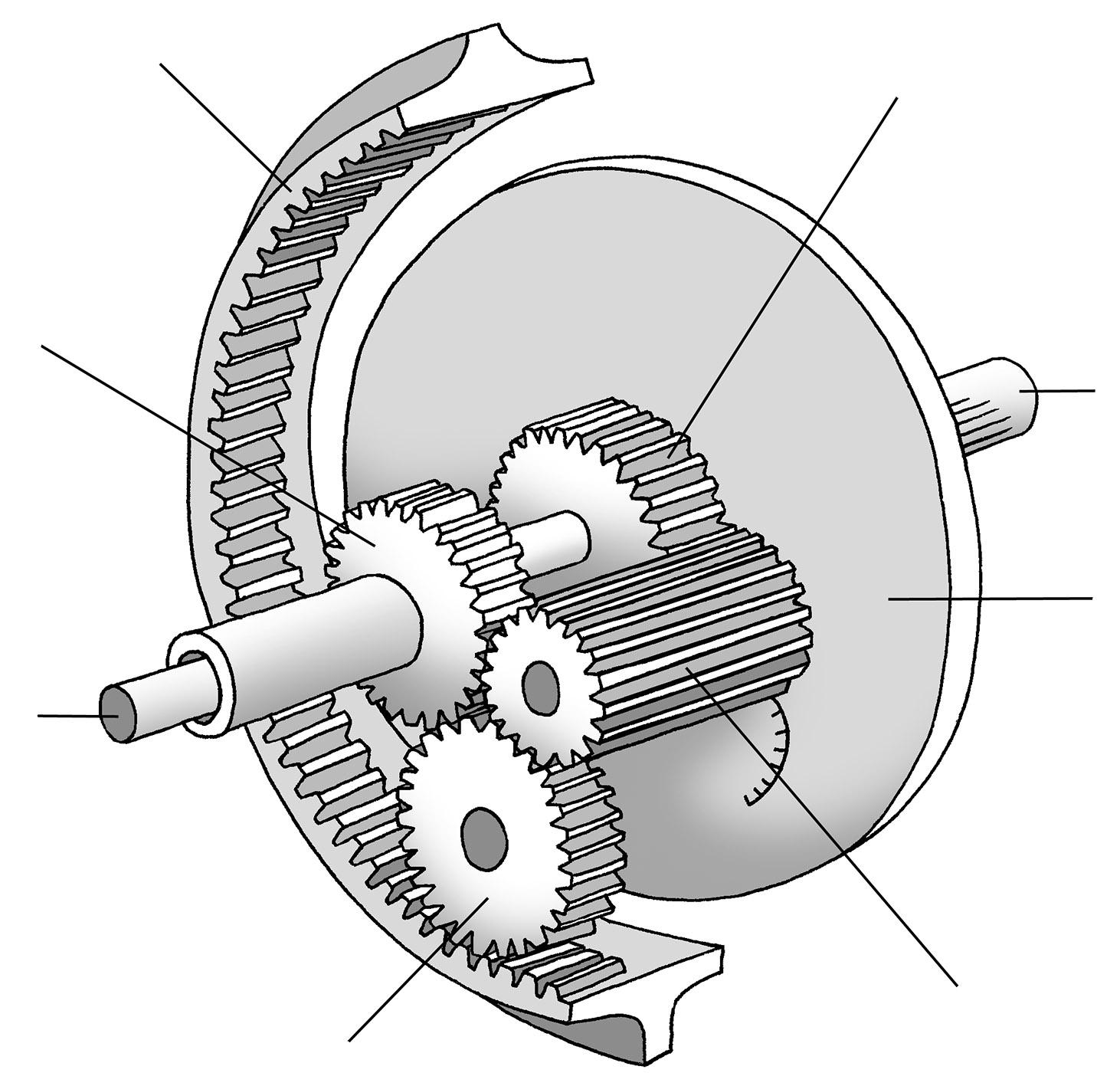 hight resolution of epicyclic gear train