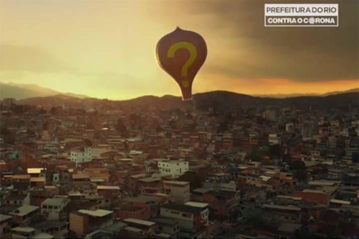 Cálix para Prefeitura do Rio: Balões, outro perigo no ar