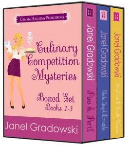Culinary Competition Mysteries Boxed Set 1-3