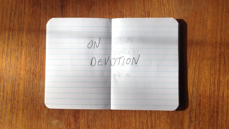 On Devotion