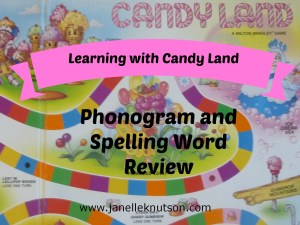 learning with candyland