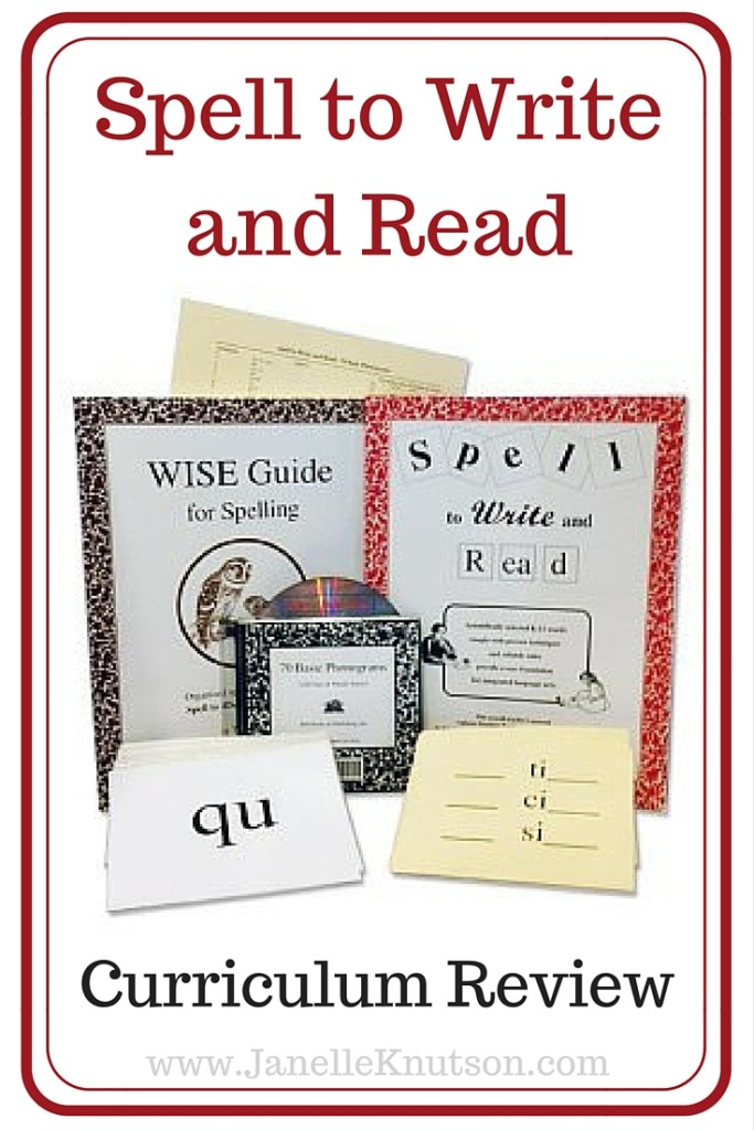 Spell to Write and Read Review