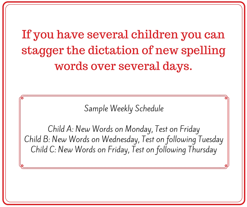 Sample Weekly Schedule SWR