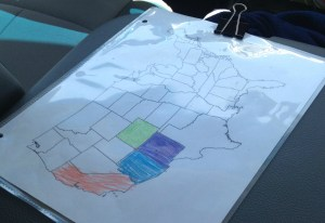 How To Make The Family Road Trip More Enjoyable Janelle Knutson - Us map you can color online