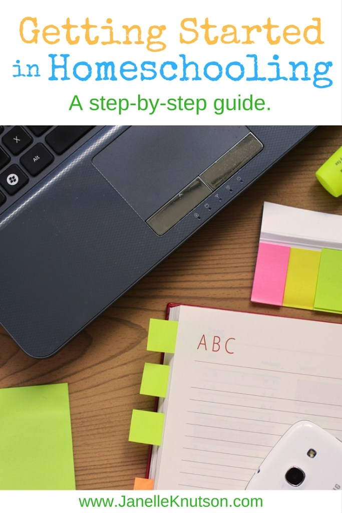 A step-by-step guide to getting started in homeschooling.