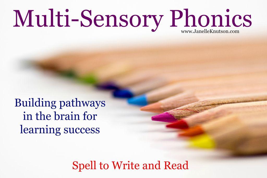 multi-sensory phonics