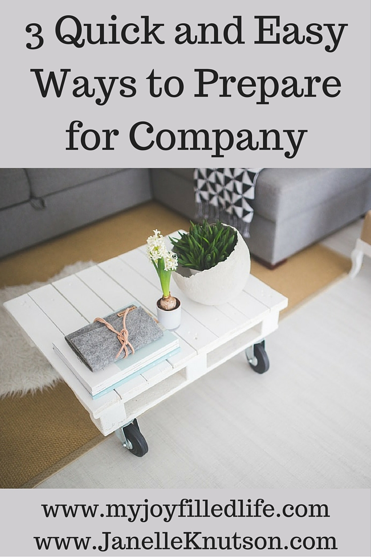 Get ready for company by preparing your heart, your home and your kids for welcoming guests into your home!