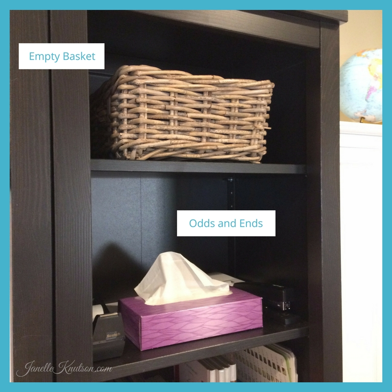 getting organized in the homeschool room