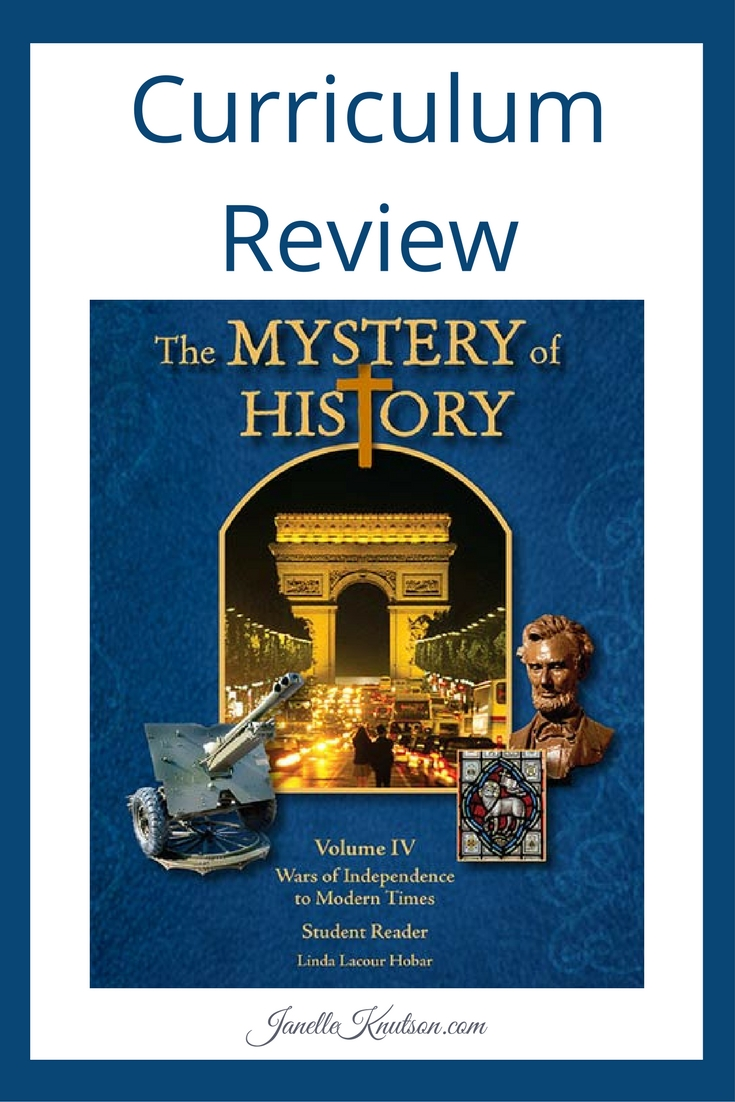 The Mystery of History curriculum review