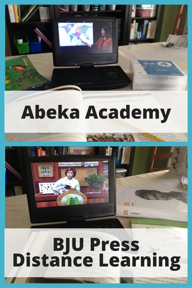 Curriculum review comparing Abeka Academy and BJU Press Distance Learning