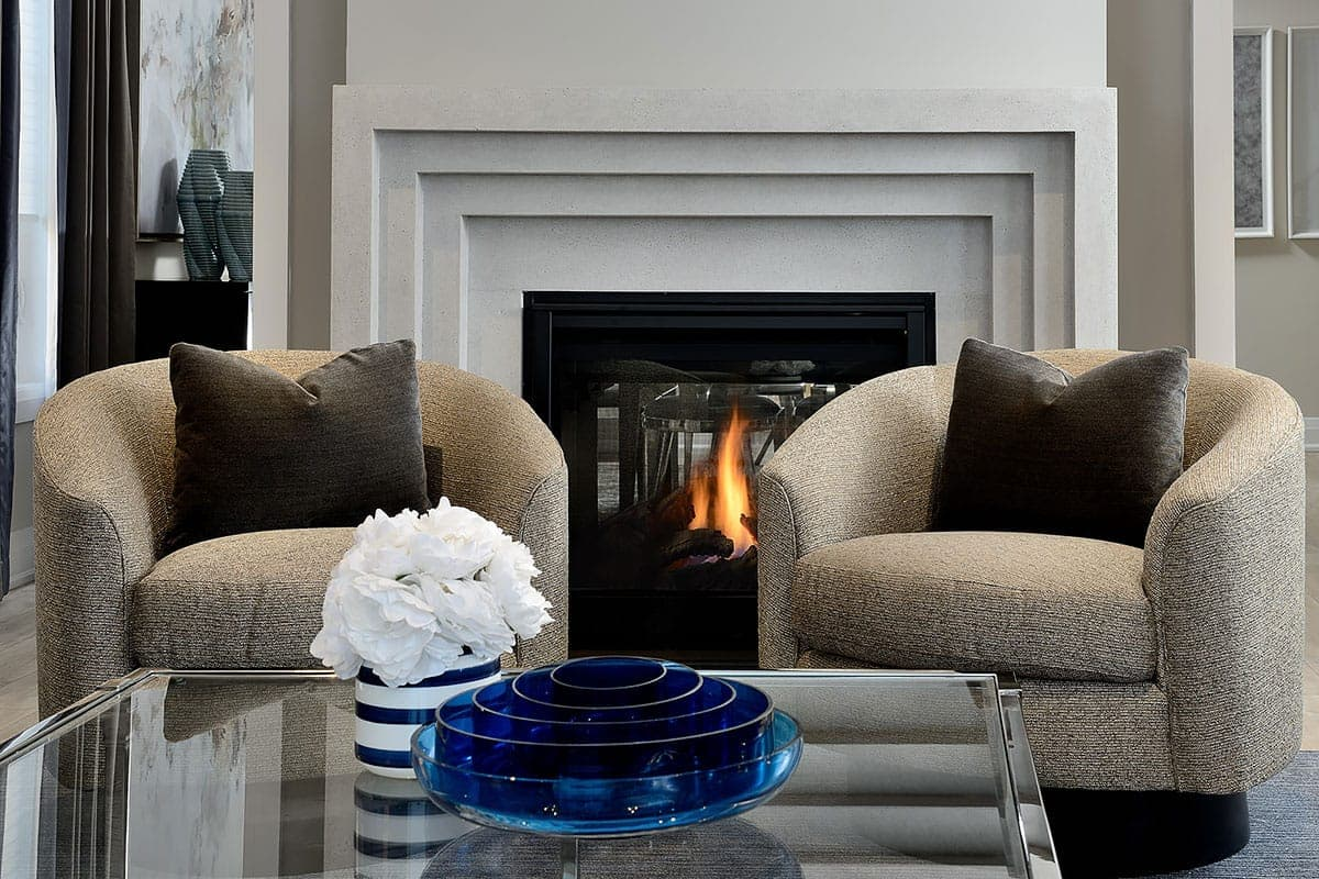 living room fireplaces sofas and chairs jane lockhart interior design the traditional fireplace mantel adds a timeless elegance to