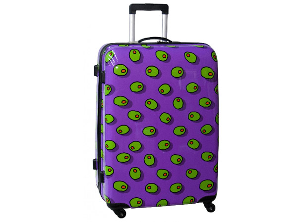 The Ugliest Suitcase Gets There!