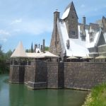 Hogsmead from moat