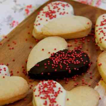 Shortbread Hearts!
