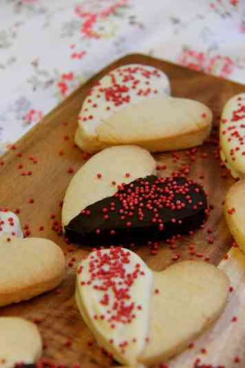 Shortbread Hearts!
