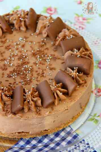Daim Bar Cheesecake