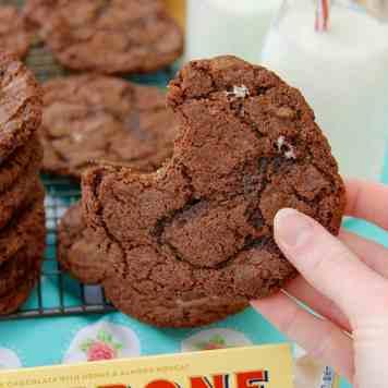 Toblerone Cookies!