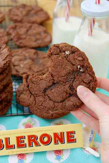 Toblerone Cookies!
