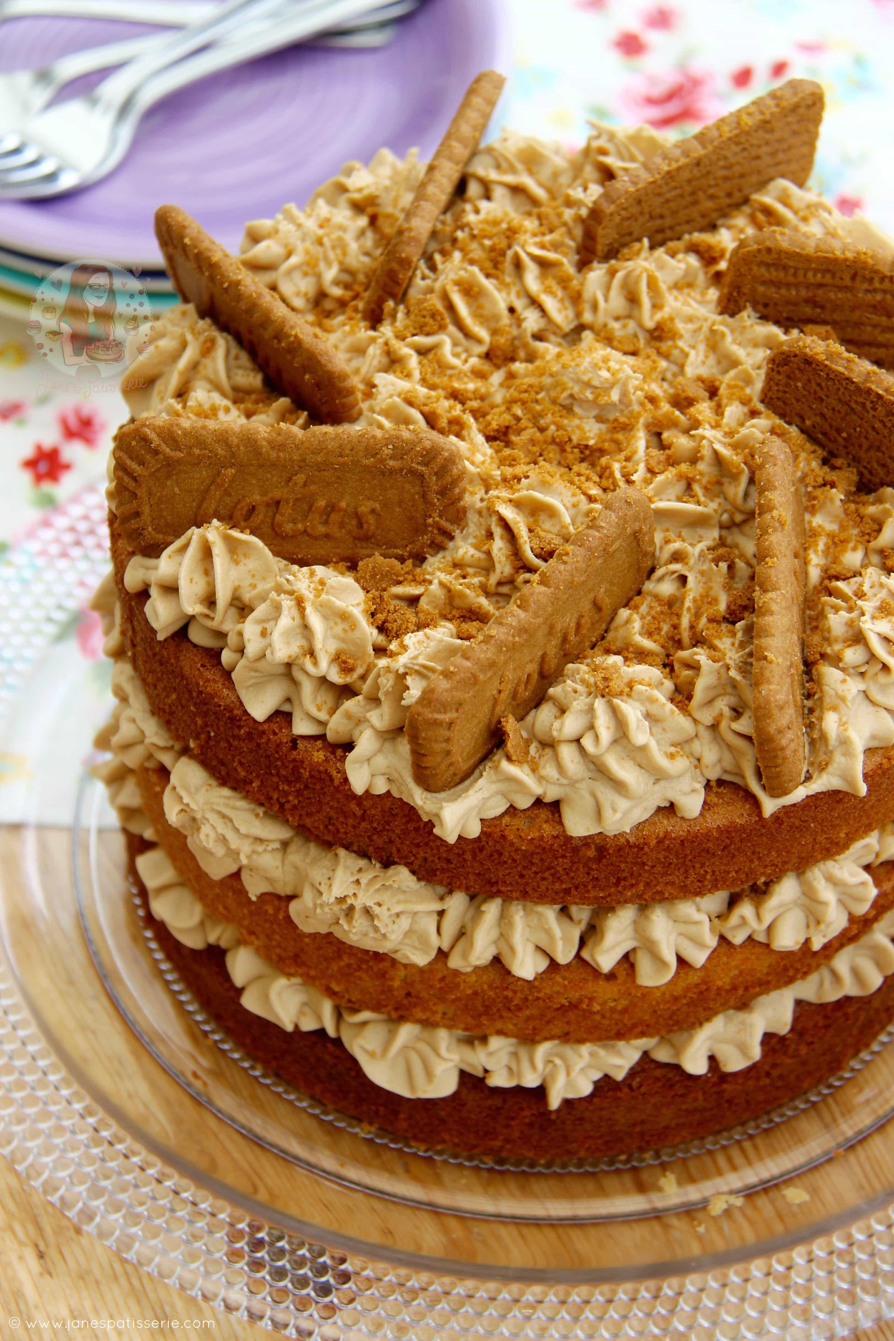 Biscoff Cake Recipe Uk