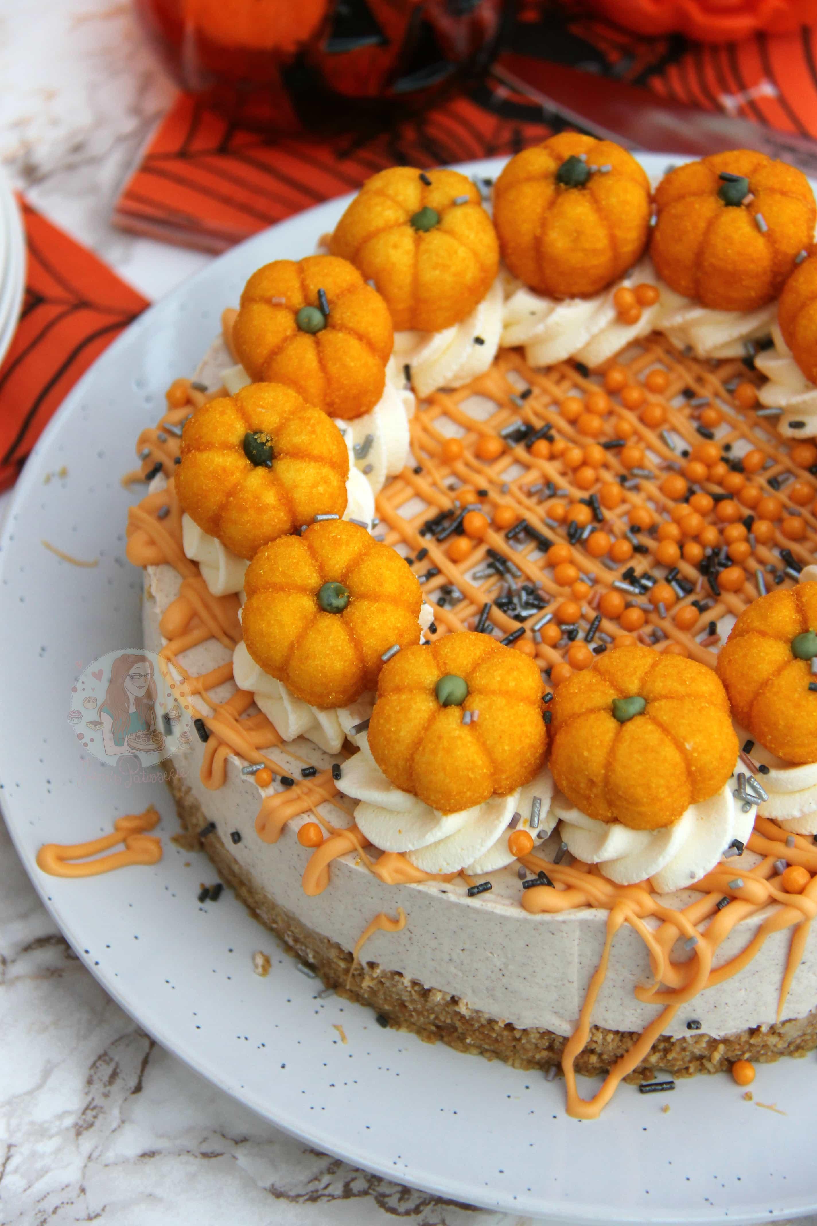 No-Bake Pumpkin Spice Cheesecake! - Jane's Patisserie
