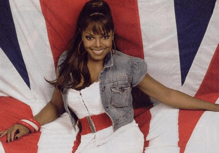 Janet Jackson UK flag