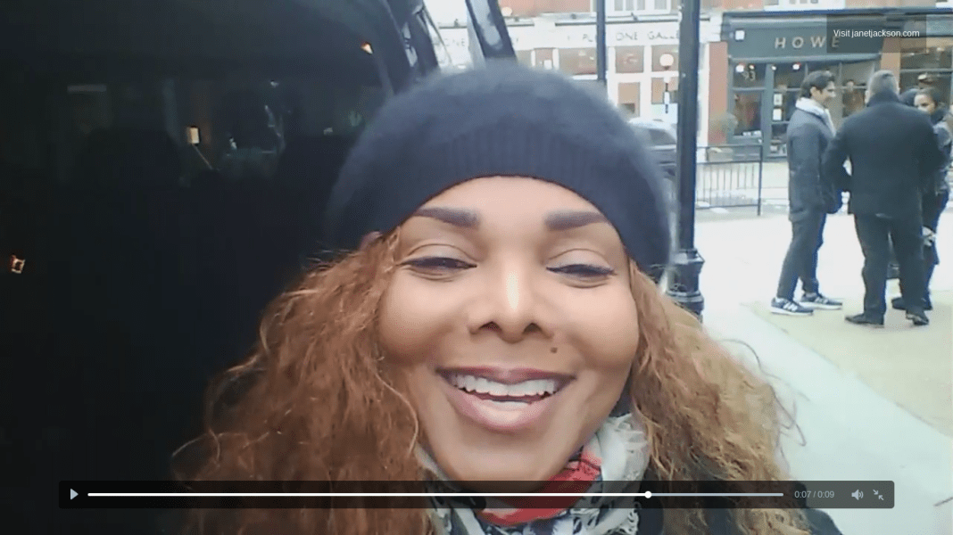 Janet Jackson in London