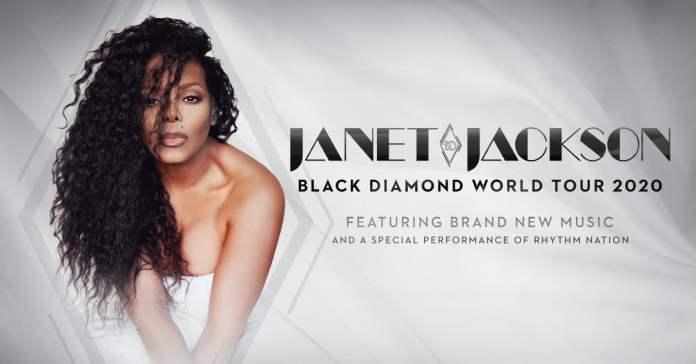 Janet Jackson Black Diamond Tour 2020