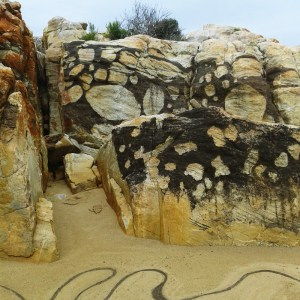 """Flow"", Plettenberg Bay, South Africa - created during the 2nd Site_Specific International Land Art Biennale"