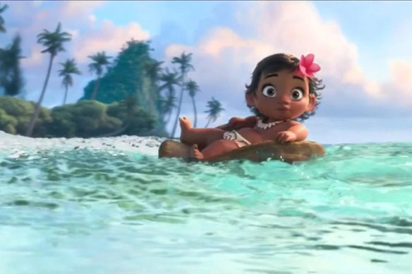 moana and the sea