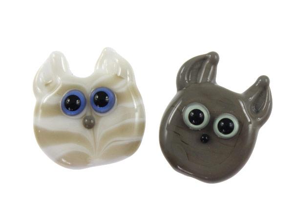 2 Kitties by Janet Crosby