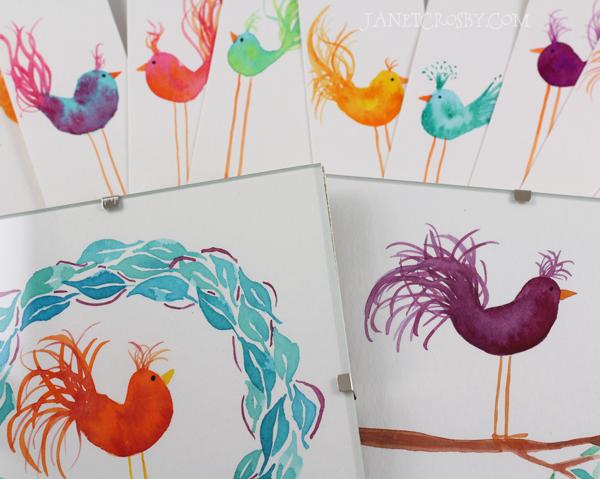 Birds, birds, birds - janetcrosby.com