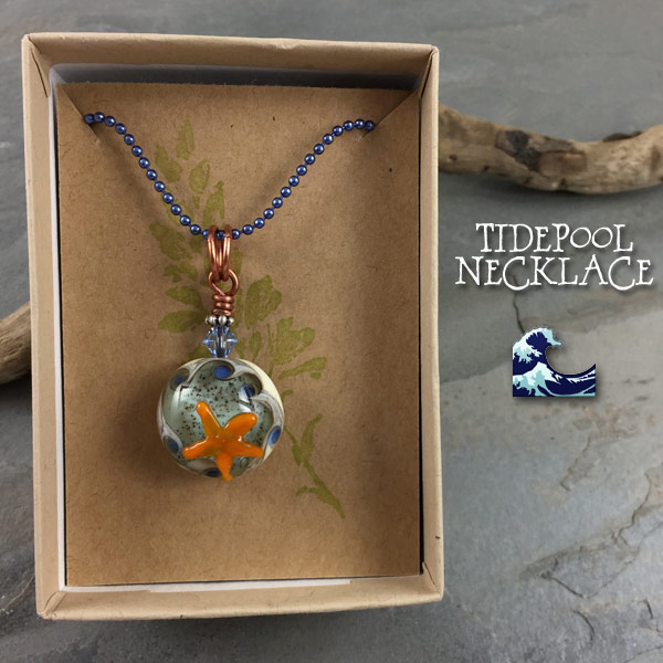 TIdepool Necklace Gift Box - janetcrosby.com