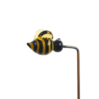 Garden Bee Plant Stake by Janet Crosby