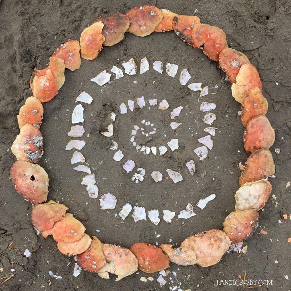 Random Beach Art - Janet Crosby