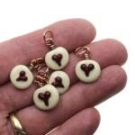 Petite Hearts Charm Set (5)