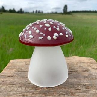 Amanita mushroom lamp - Janet Crosby