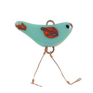 Leafy Bird by Janet Crosby