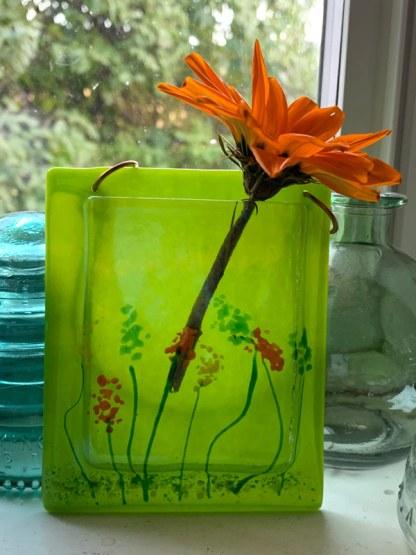 Pocket Vase - Wildflowers by Janet Crosby