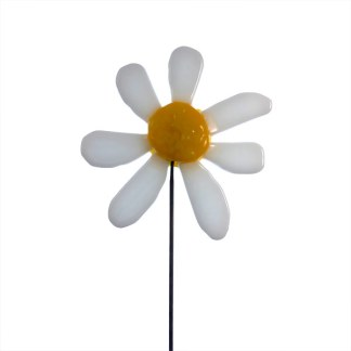 Garden Stake Daisy by Janet Crosby