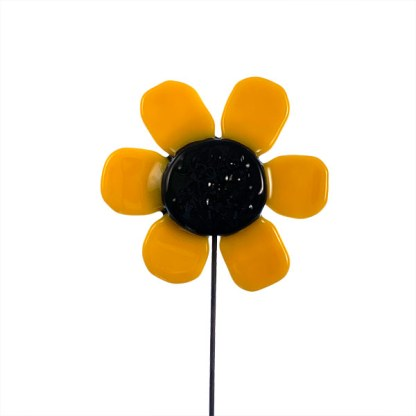 Garden Stake Black-eyed Susan by Janet Crosby