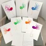 Bird Postcards by Janet Crosby