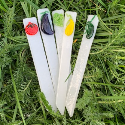 Veg Stix Garden Stakes by Janet Crosby