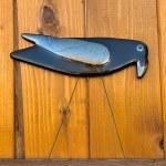 Raven garden art by Janet Crosby