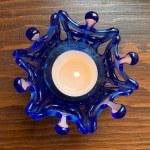 Snowflake Tealight -- Splash