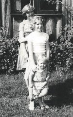 With my siblings, early 1960s