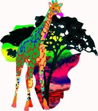 Giraffe map