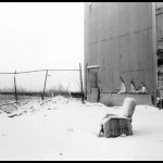 Chair in Snow, End of Van Brunt Street, 1984