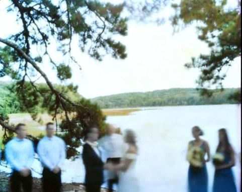 Rachel and Nick wedding ceremony 45 minute exposure